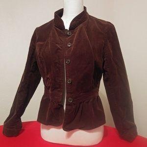 ANA Blazer Jacket M Brown Corduroy